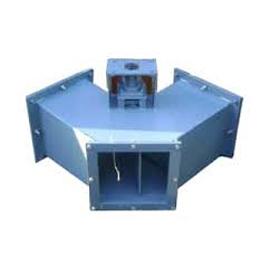 Y Type Hot Air Gas Air Diverter Ball Valves